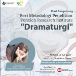 Dramaturgi: Dr. Ari Kamayanti