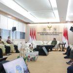 Pertemuan dengan Menteri Sofyan Djalil